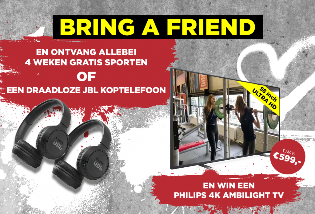 Bring a friend actie | Coronel Sports Bunnik